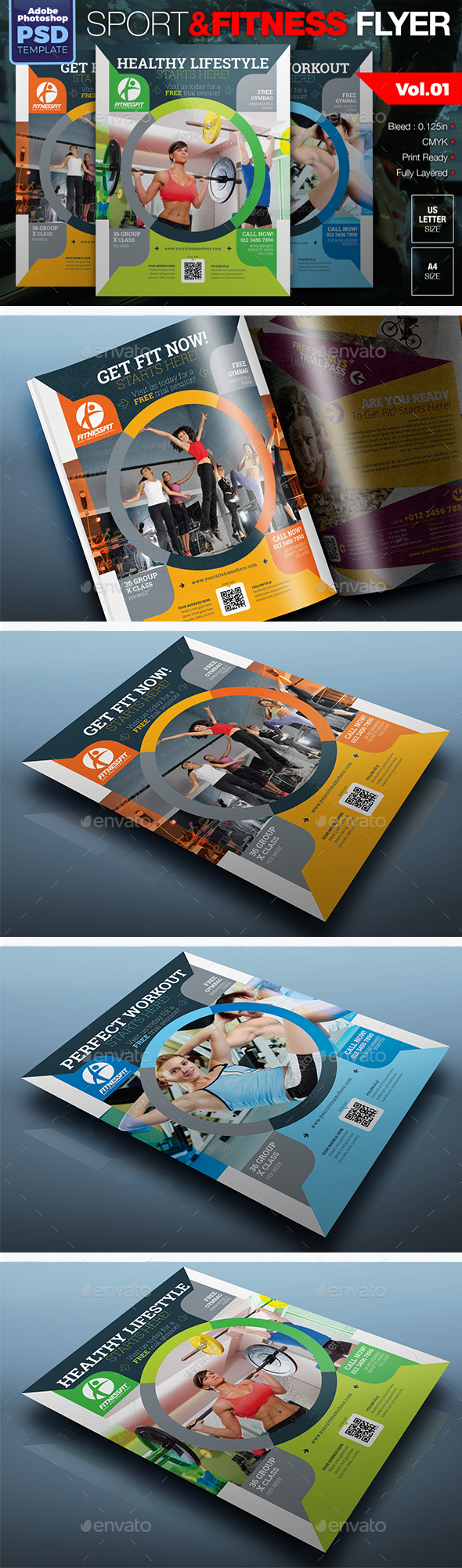 Sport & Fitness Flyer Vol.01 - Sports Events
