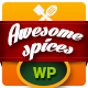 Awesome Spice - Restaurant / Cafe WordPress Theme - ThemeForest Item for Sale