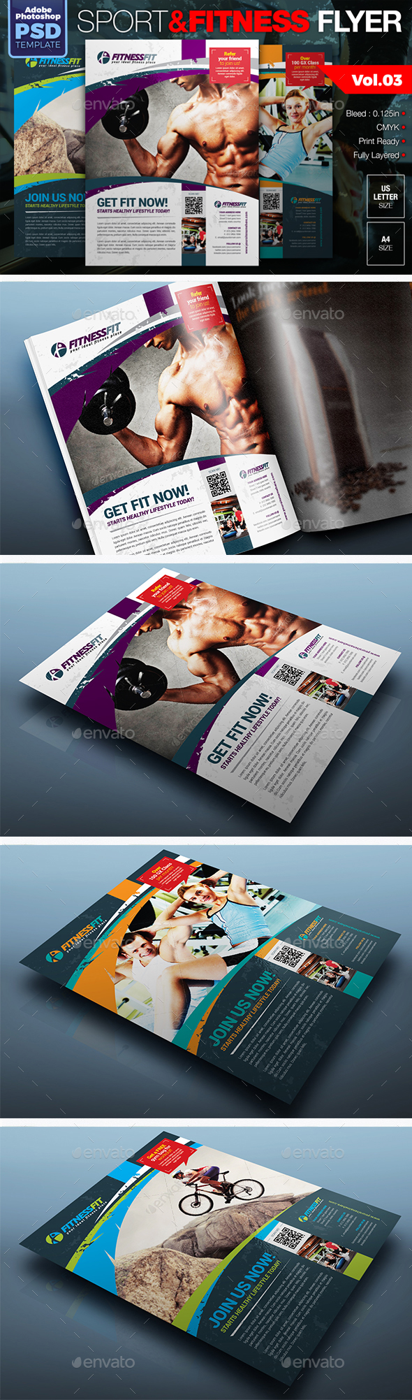 Sport & Fitness Flyer Vol.03 - Sports Events
