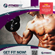 Sport & Fitness Flyer Vol.03 - GraphicRiver Item for Sale