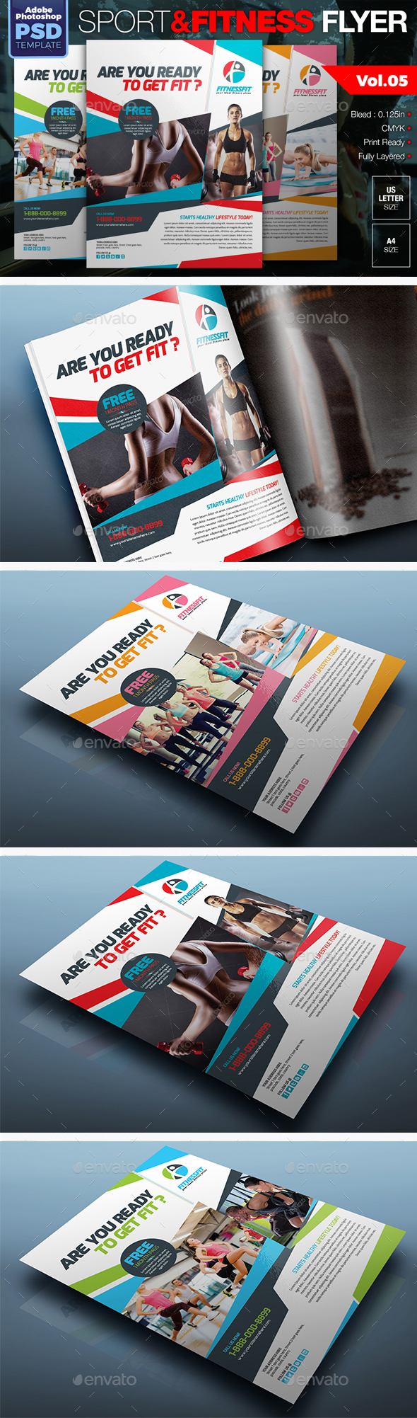 Sport & Fitness Flyer Vol.05 - Sports Events