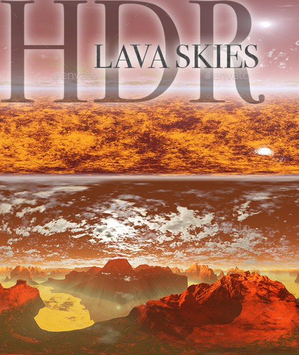 HDR Lava Skies - 3DOcean Item for Sale