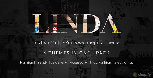Shopify Multipurpose Theme - Linda