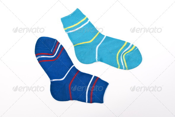 Child socks - Stock Photo - Images