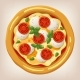 Margarita Pizza  - GraphicRiver Item for Sale