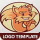 Fox Vector Logo Template - GraphicRiver Item for Sale