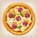 Mexican Pizza Illustration - GraphicRiver Item for Sale