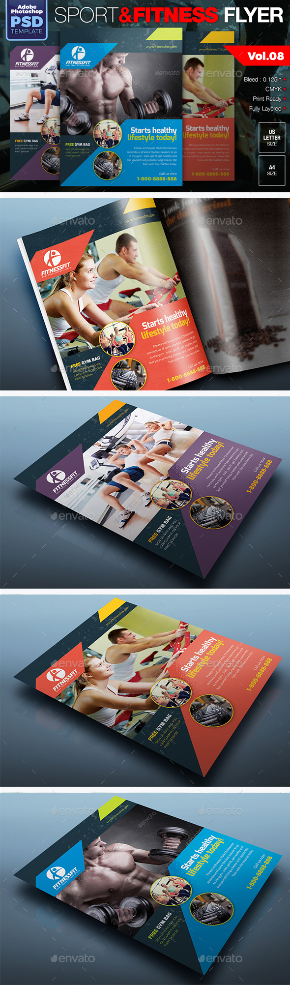 Sport & Fitness Flyer Vol.08 - Sports Events