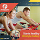 Sport & Fitness Flyer Vol.08 - GraphicRiver Item for Sale