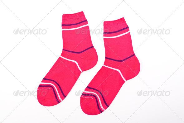 Child socks - Stock Photo - Images