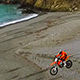Motorcycle Riding in the Beach - VideoHive Item for Sale