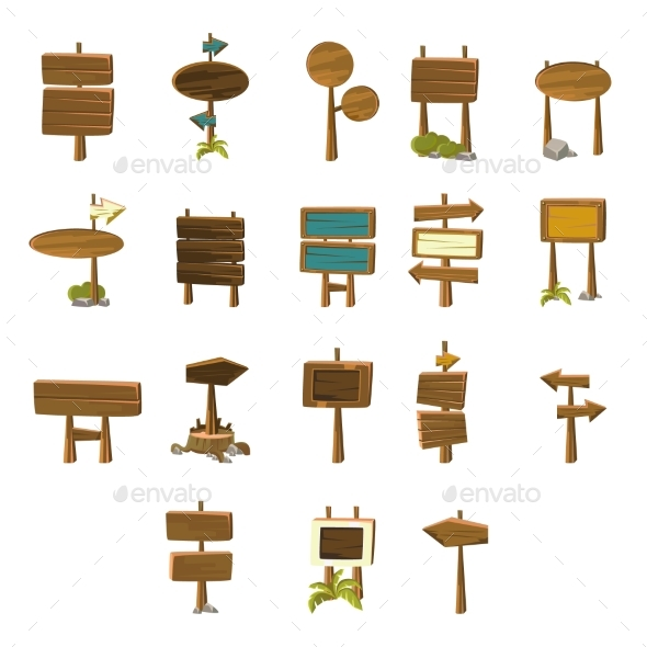 Video Game Pointers Collection - Web Elements Vectors