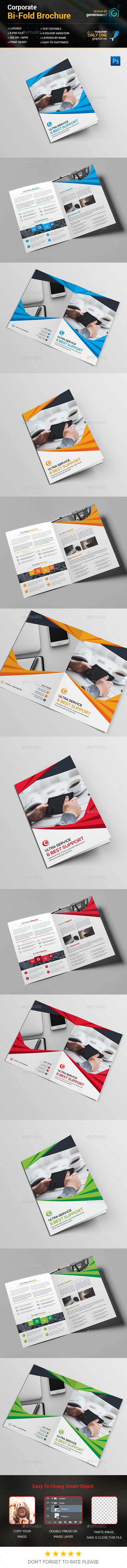 Bi-Fold Business Brochure - Corporate Brochures
