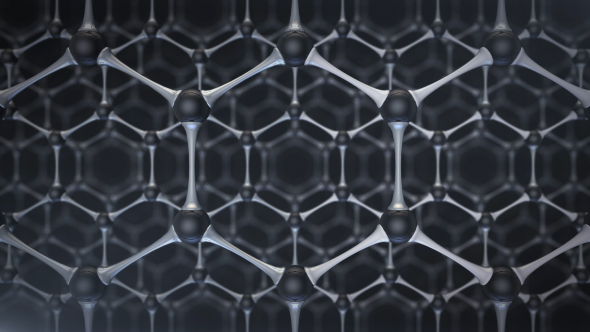 Crystal Structure of Graphene by What-U-See | VideoHive