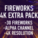 Fireworks 4k Extra Pack - VideoHive Item for Sale
