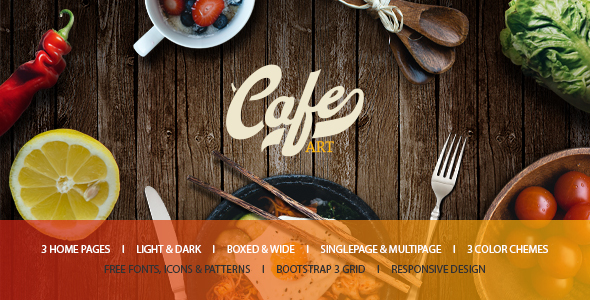 Cafe Art – Cafe & Restaurant WordPress Theme