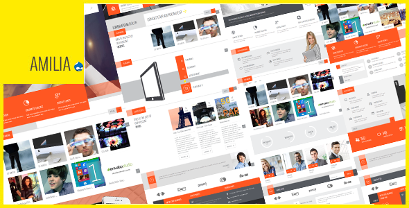 Amilia – Multipurpose One & Multi Page Drupal Theme