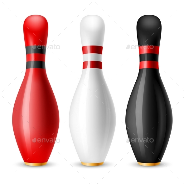 Bowling Skittles - Sports/Activity Conceptual
