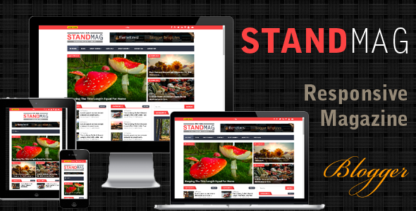Stand Mag - Responsive Blogger Magazine