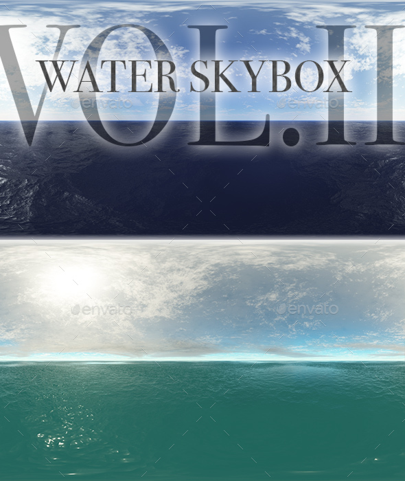 Water Skybox Pack Vol.II - 3DOcean Item for Sale