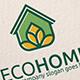 Eco Home Logo - GraphicRiver Item for Sale