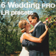 6 Wedding PRO LR presets - GraphicRiver Item for Sale