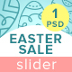 Easter Sale Slider - GraphicRiver Item for Sale