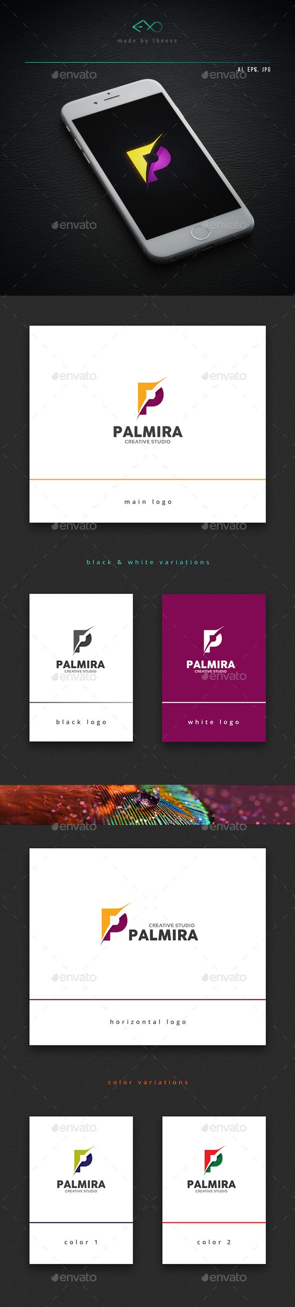 Palmira - Letters Logo Templates
