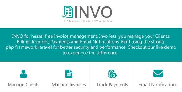 INVO - Hassle Free Invoicing  - CodeCanyon Item for Sale