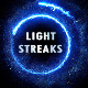 Energy Light Streaks With Particles - VideoHive Item for Sale