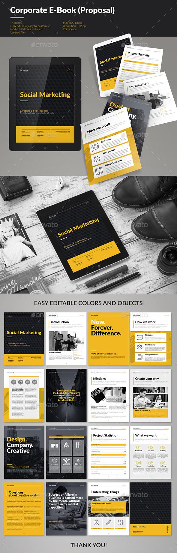 Corporate E-book Template - Digital Magazines ePublishing