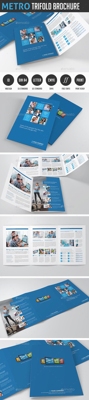 Metro Tri-fold Image Brochure - Corporate Brochures
