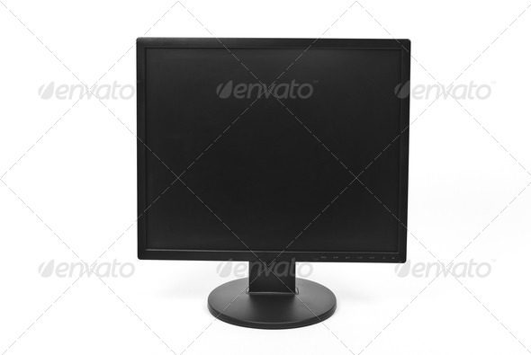 Lcd monitor - Stock Photo - Images