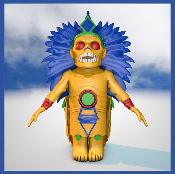 Inca God  - 3DOcean Item for Sale