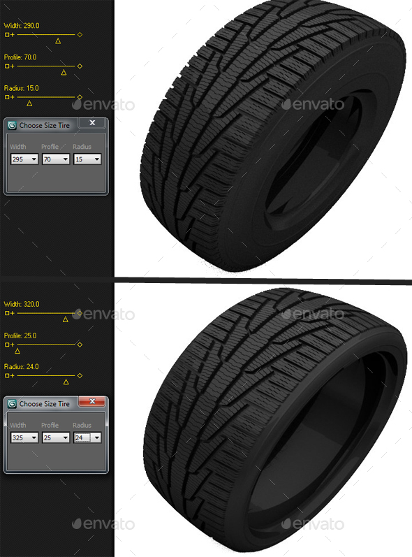 Max-Scripted Tire Size Changer