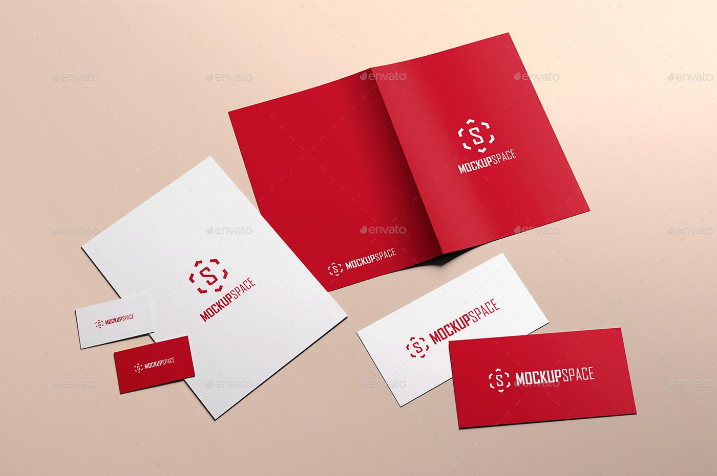 elegant stationery brand by alexdesenho graphicriver
