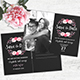 Chalkboard Wedding Invitation Stationery - GraphicRiver Item for Sale
