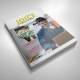 Joice Magazine Template | Issue 20 - GraphicRiver Item for Sale