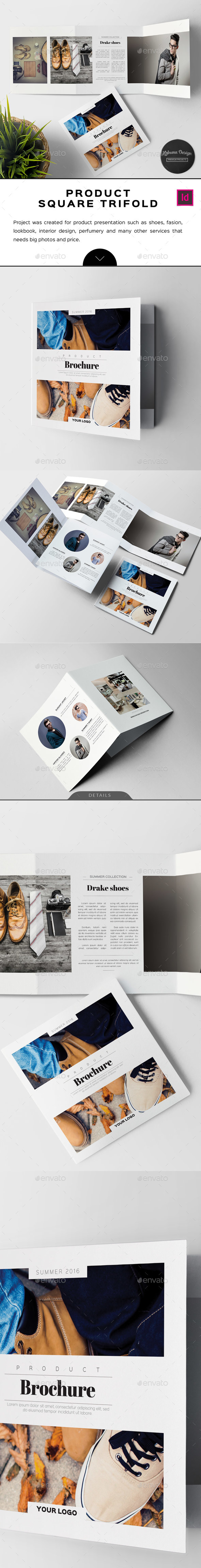 Product Square Trifold - Informational Brochures