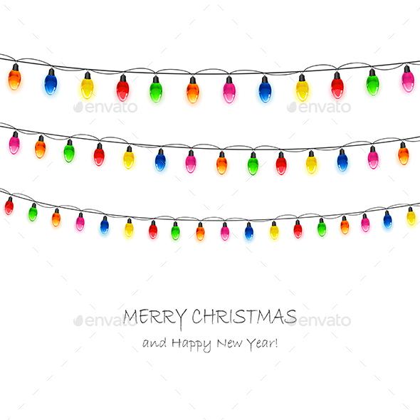 Christmas Light Bulbs - Christmas Seasons/Holidays