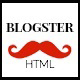 Blogster :: A Responsive Personal HTML Blog Theme - ThemeForest Item for Sale