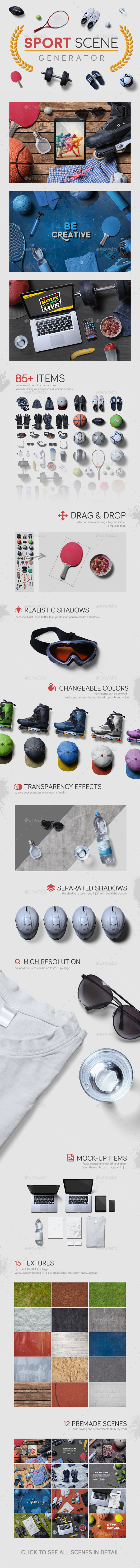 Sport Scene Generator by h3stocks | GraphicRiver