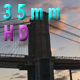 View of the Brooklyn Bridge in New York City - VideoHive Item for Sale