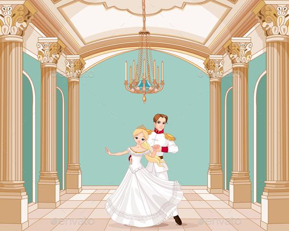 Prince and Princess  - People Characters