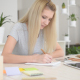Writing Girl - VideoHive Item for Sale
