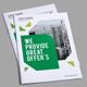 Green Corporate Bi-fold Brochure - GraphicRiver Item for Sale
