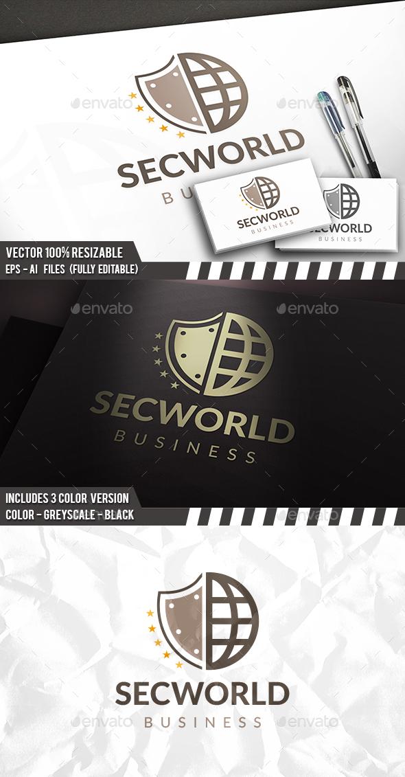 Security World Logo - Symbols Logo Templates