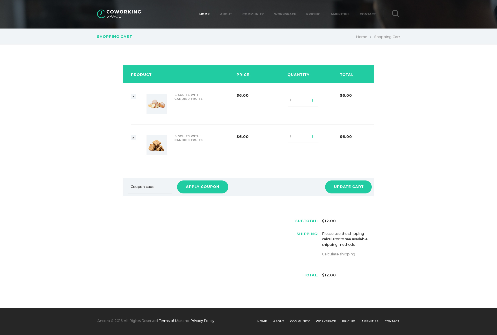Coworking - Open Office & Creative Space WP Theme by AncoraThemes ...