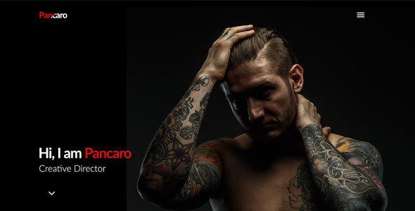 Pancaro – Personal Resume & CV WP Theme