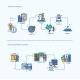 Start Up, Office Equipment Business Concept